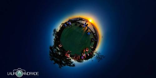 Parque da Cidade - Ao por do sol.